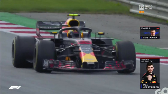 Nu Al Een Legendarisch Video Max Verstappen Finisht P1 In